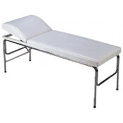 Εξεταστικό Μεταλικό Κρεβάτι με Πομπέ Προσκέφαλο