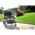 Πτυσσόμενο Ηλεκτροκίνητο Αμαξίδιο Smart Chair