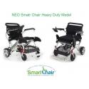 Νέο Ενισχυμένο Πτυσσόμενο Ηλεκτροκίνητο Αμαξίδιο Smart Chair Heavy Duty