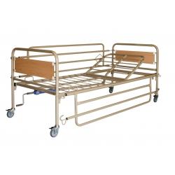 Νοσοκομειακό Κρεβάτι Μονόσπαστο με Ρόδες AC-400W