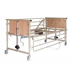 Νοσοκομειακή Κλίνη Ημι-Ηλεκτρική Μονόσπαστη Με Ρόδες AC - 406W
